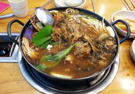 Korea's hangover soup.