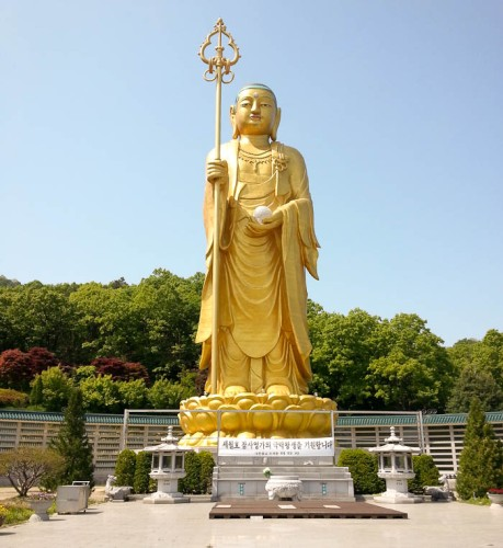 This giant Buddha is in the middle of nowhere about 15 minutes from where I live.