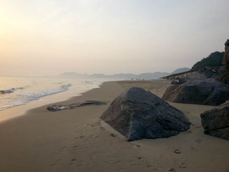 Finally made it to the beach in Korea and it happened to be on a deserted island.