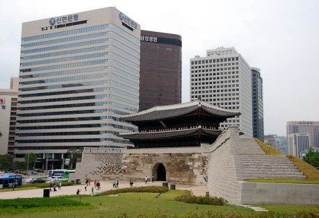 Sungnyemun Gate in Seoul