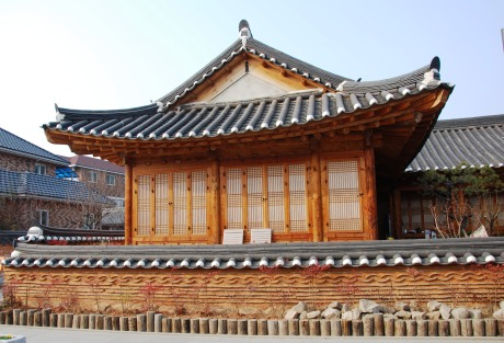 Hanok, a traditional Korean style house in Jeonju.