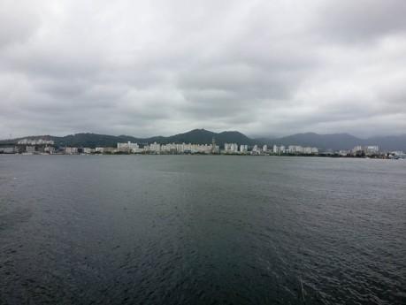 View of Sokcho from Abai Village.