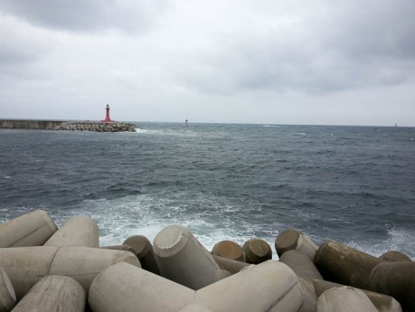 Lighthouses in Sokcho.