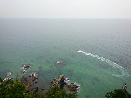 The beautiful East Sea.
