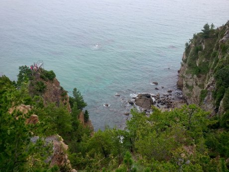 The Korean coastline was so much more beautiful than I imagined it would be.