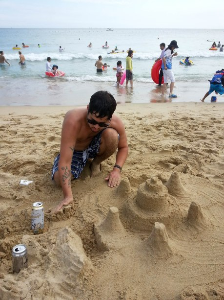 Why not build a sand castle?