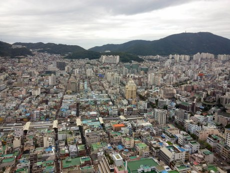 Another view from Busan Tower. So many buildings!