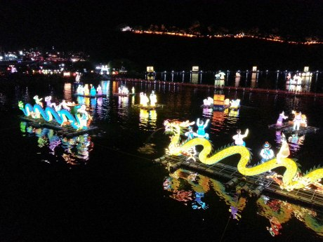 Jinju Namgang Yudeung (lantern) Festival