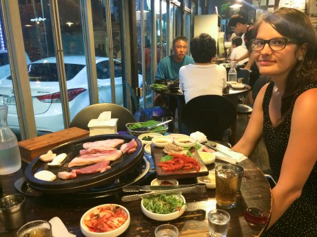 More Korean barbecue because it tasted so good the first night.