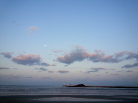 Early morning at Gusipo Beach.