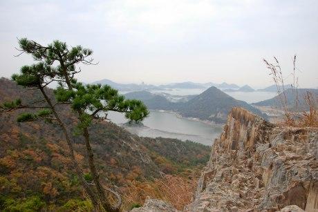 Sinsido Island, looking out towards the West Sea (aka Yellow Sea).