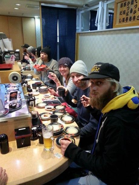 More sushi.
