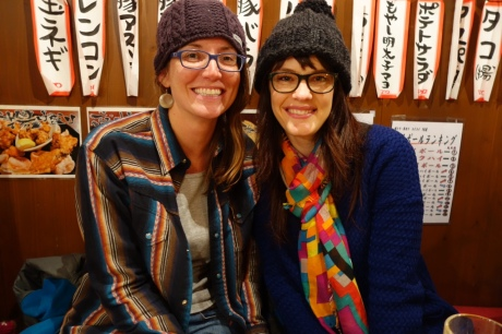 I was so excited to meet up with Kinsey in Japan!